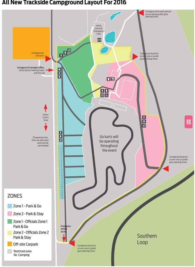 World Superbike Championship Map