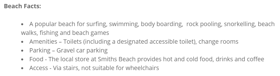 YCW_Beach_facts