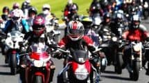 Barry Sheene Tribute Ride